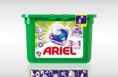 Muziek uit de Ariel 3in1 reclame